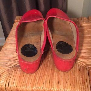 Vintage Shoes - Vintage Swedish wooden clogs